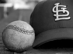 St. Louis Cardinals hat & baseball by shortphotographer, via Flickr