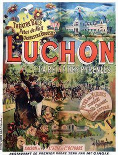 Luchon,Reine des Pyrénées, Fête des Fleurs     vers 1890