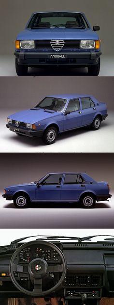1977 Alfa Romeo Giulietta / Tipo 116 / blue / Italy / Twin Cam L4 / 17-347