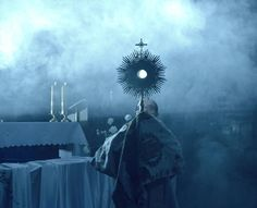 Yesterday, Adoration in St. Mary's Church in old town, Cracow Poland  http://mariacki.com/en/pastors-and-community/christ-in-the-city/