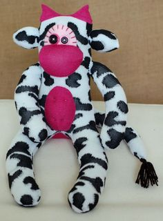 cute sock cow found on Etsy