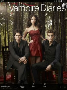 The Vampire Diaries Pictured: Ian Somerhalder as Damon, Nina Dobrev as Elena, Paul Wesley as Stefan Photo Credit: Art Streiber / The CW © 2010 The CW Network, LLC. All Rights Reserved. Vampire Diaries Stefan, Vampire Diaries Season 2, The Vampires Diaries, Vampire Diaries Poster, Vampire Diaries Wallpaper, Vampire Diaries Cast, Vampire Diaries The Originals, Stefan Vampire, Stefan Tvd