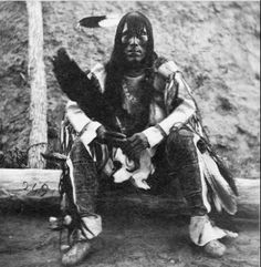 Iron Bear, Chief of Rees, 1866 by Thiophene_Guy, via Flickr Credit to Teresa Bernard for pin!