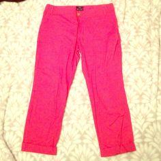 Pink Gap capris Pink/dark coral Gap capris, Hadley brand, size 10, stretch, GAP Pants Capris