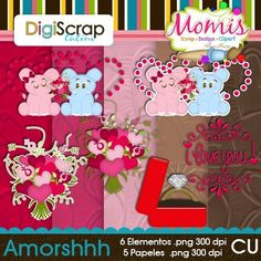 Amorshhh - $2.00 : DigiScrap Latino