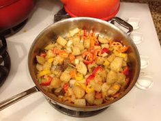 Potatoes with Sweet Peppers