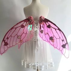 Adult Fairy Wings, Fae Aesthetic, Outfit Look, Renaissance Costume, Fairy Dress, Tiny Heart, Alternative Fashion, Faeries, Pretty Outfits