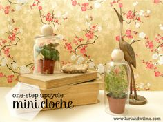 One-Step Upcycle | DIY Mini Cloches