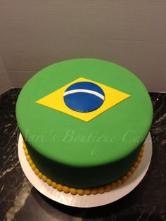 Brazil Cake - by Mari's Boutique Cakes