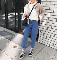 Endzel - Shein Jacket, Secondhand Sweater, Sinsay Pants - Cookies