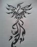 Phoenix Rising From Ashes Tattoo Designs - Bing Images