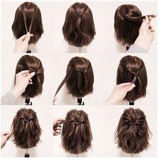 23 neue süße Frisuren für kurze Haare. Vielleicht möchten Sie mehr sehen #kurze#frisuren#hairstyle#bobs#style #haarscnitte#besten#stile#trendfrisuren