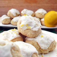 Day 8 – Italian Lemon Drops (i.e. Lemon Anginetti). I am going to make these with a gluten free flour, almond milk, and a margarine that has no milk. Making them for myself 'hubby's boss, and his wife who also cannot have gluten or milk like me.  I will add on to this pin to say how it went and what my substitutions were.