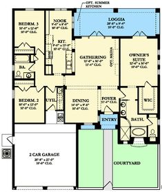 Charming Mediterranean Home Plan - 82017KA   1st Floor Master Suite, CAD Available, Courtyard, European, Florida, Mediterranean, PDF, Spanish, Split Bedrooms, Tuscan   Architectural Designs