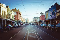 Fitzroy, Melbourne: I had some of the best afternoons of my life wandering in… Vic Australia, Victoria Australia, Australia Living, Melbourne Australia, Australia Travel, Melbourne Tourism, Melbourne Travel, Visit Melbourne, Brunswick Street