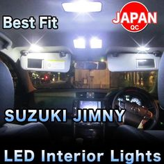LED lights complete Interior Package 2 Pieces - SUZUKI JIMNY 2013-up