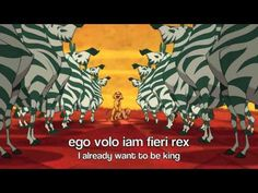 'I Just Can't Wait to be King' from 'The Lion King' in Latin (Classical) #videos #lingualatina