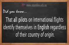 TESOL ESL [ English Facts ] All Pilots.