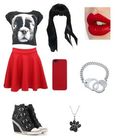 """dog days#2"" by readytorunsaints ❤ liked on Polyvore featuring Ash, C6, Jewel Exclusive, Charlotte Tilbury and BERRICLE"