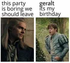The Withcer, Bad Day Humor, The Witcher Geralt, Witch Board, Funny Memes, Jokes, Kids Tv, Can't Stop Laughing, Film Serie
