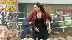 Scarlet Witch moves like nothing else on the planet. Find out what actress Elizabeth Olsen did to manipulate her magic for the big screen.
