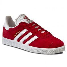 Buty adidas - Gazelle S76228 Scarle/Ftwhht/Goldmt