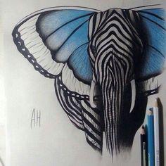Elefant, art