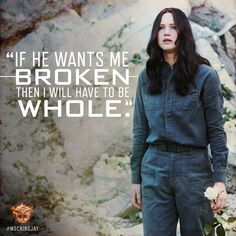 President Snow's threats inspired her courage. #Mockingjay