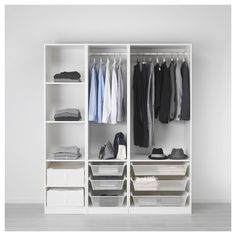 "IKEA - PAX, Wardrobe, 68 7/8x22 7/8x79 1/4 "", , 10-year Limited Warranty. Read…"