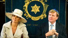 Koningspaar bezoekt Joodse Gemeente