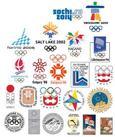 Logos Created for #Olympics [Gallery]