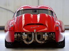 """1958 750 Abarth Zagato """" Double Bubble """" ✔️"""