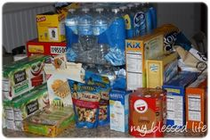 Survival_Gear- for tornado season, store a few items in Sara's room in laundry basket