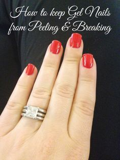 How to Keep Gel Nails from Peeling and Breaking