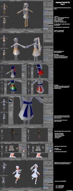 Jugapugz 3d lowpoly character Tutorial/Tip Part 5 by jugapugz.deviantart.com on @DeviantArt