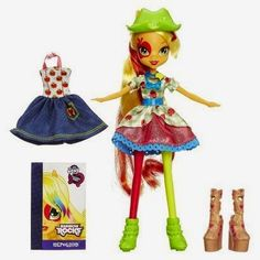 New Applejack Equestria Girls Fashion Doll