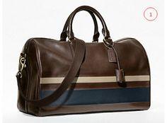 Coach http://gentlemanshion.wordpress.com #fashion #mensbags