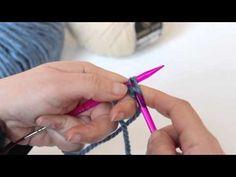 Escuela DaWanda: Montar puntos en agujas circulares