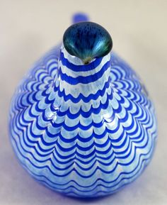Oiva Toikka (Iittala) - Blue Bird Yves Klein, Alvar Aalto, Love Blue, Bird Art, Blue Bird, Finland, The Creator, Birds, Cool Stuff