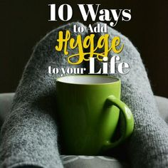 Adding hygge to your life will provide instant happiness! That's why it's so contagious. Check out this list to find out what you can do right now to make your life more hyggelig.