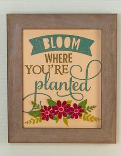 Create a fun piece of wall art for your space.