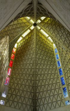 Architects: Pietro Belluschi and Pier Luigi Nervi   Location: San Francisco, California, United States   Project Year: 1971   References: St Mary's Cathedral SF