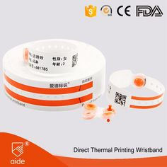 Direct Thermal Wristbands for New Born Baby #baby #newborn #wristband #babycare