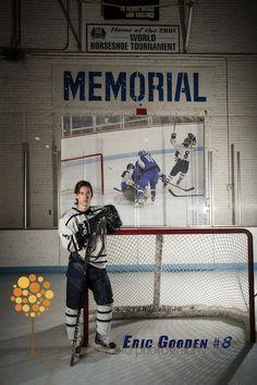 Bad Ass Senior Hockey Photo Hockey Senior Pictures, Senior Guys, Senior Photos, Senior Year, Girls Golf, Grad Pics, Beach Portraits, Great Photos, Photo Sessions