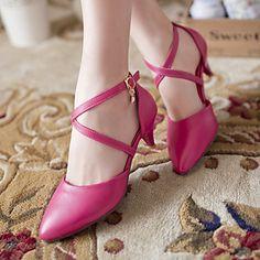Women's Shoes Kitten Heel Heels Pumps/Heels Office & Career/Dress…