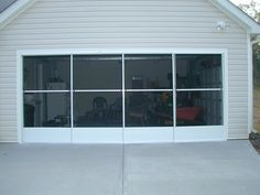 garage door sliding screen door for garage door - Google Search