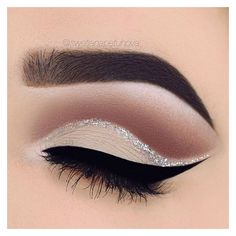 Cut crease ❤ liked on Polyvore featuring beauty products, makeup, eye makeup, eyes, beauty, filler, eyebrow cosmetics, eyebrow makeup, brow makeup and eye brow makeup