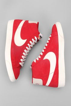 separation shoes 8f074 0e10a Nike Blazer Hi Premium Retro Sneaker - Urban Outfitters New Sneakers, Retro  Sneakers, Nike