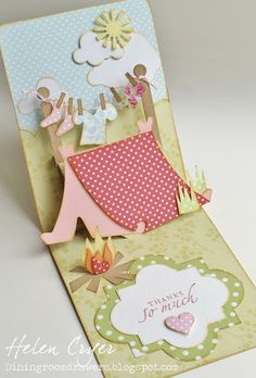 The Dining Room Drawers: Pop 'n Cuts Camping card Camping Cards, Step Cards, Cricut Cards, Fancy Fold Cards, Easel Cards, Winter Cards, Pop Up Cards, Scrapbook Cards, Scrapbooking