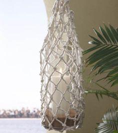 #Knot-ical #Rope #Lantern :) #DIY #nautical